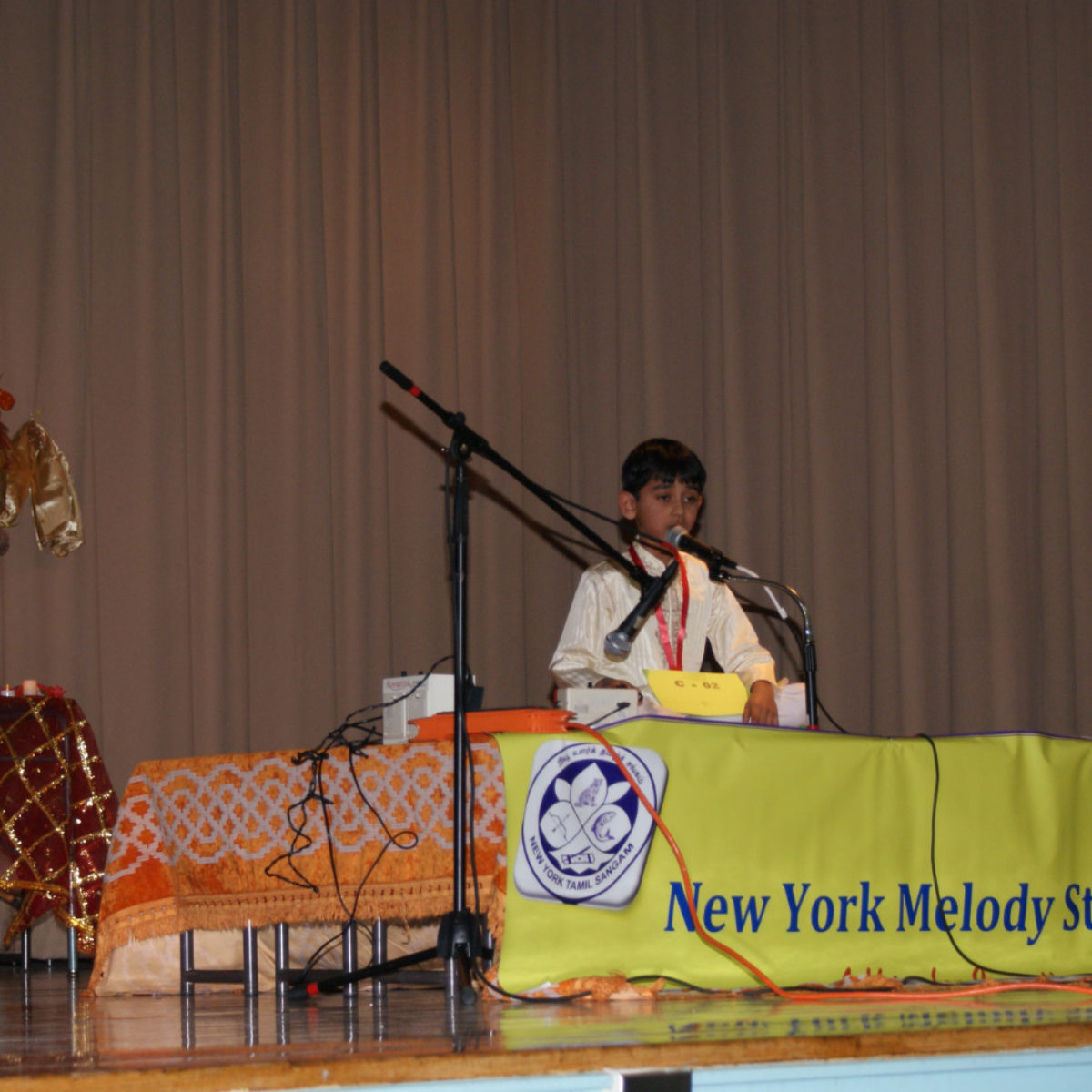 NY Melody Star Singer Contest- First Audition Pictures